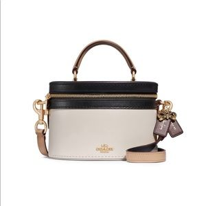 New COACH x Selena Gomez Colorblock Trail Bag